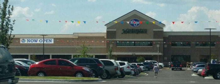 Kroger Marketplace is one of Posti che sono piaciuti a Samah.