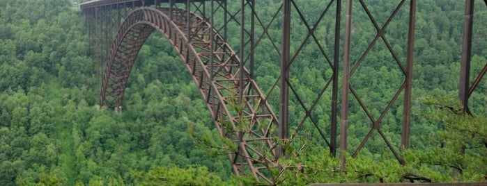 New River Gorge Overlook is one of Birds, Mountains, and Lakes, Oh My!.
