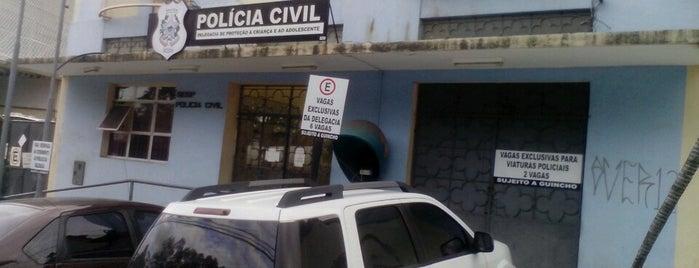 Delegacia de Proteção à Criança e ao adolescente is one of Trabalhos.