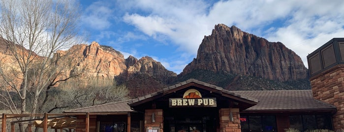 Zion Canyon Brewery is one of Lieux qui ont plu à Sol.