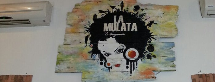 Restaurante La Mulata is one of Cartegena.