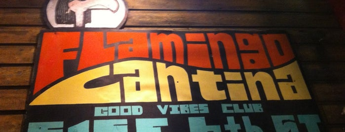 Flamingo Cantina is one of Martin 님이 저장한 장소.