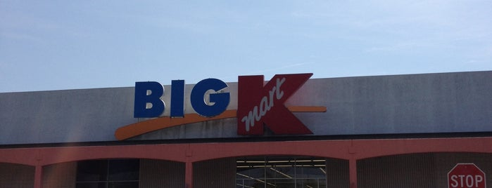 Kmart is one of Work Locations.
