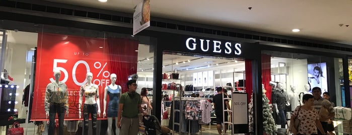 GUESS is one of SM Megamall.