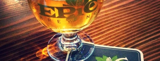 Epic Brewing Denver is one of Jerry 님이 좋아한 장소.