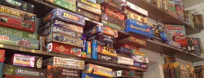 The Uncommons is one of Board Game Cafes.
