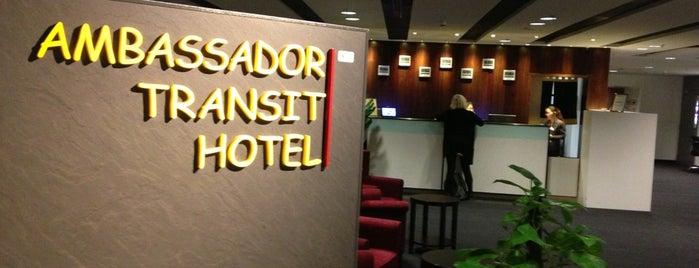 Ambassador Transit Hotel is one of Airports I've flown thru.