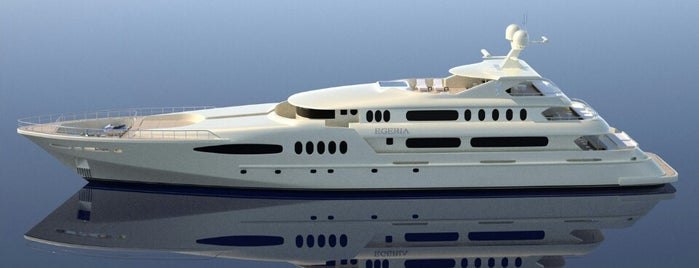 Egeria Luxury Yacht by Group Bodrum is one of Tempat yang Disukai Kamil.
