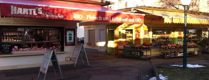 Südbahnhofmarkt is one of Orte, die Michael gefallen.