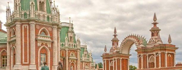 Большой Царицынский дворец is one of Tempat yang Disimpan Ilija.