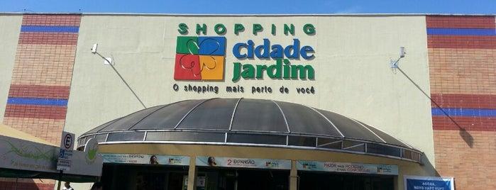 Shopping Cidade Jardim is one of Shoppings de Goiânia.