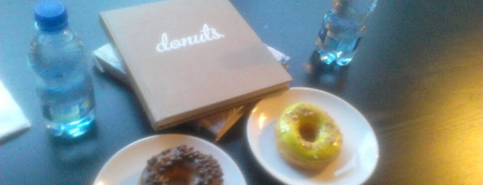 The Donut Library is one of Cafe.