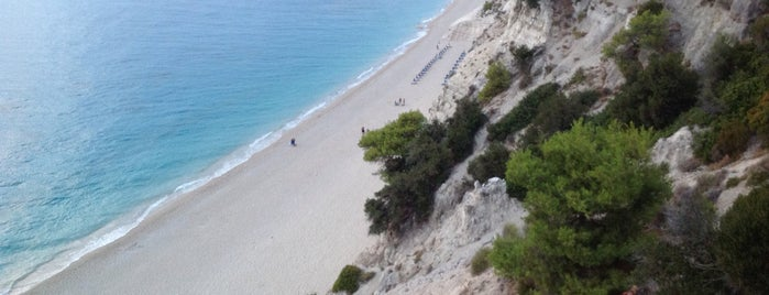 Lefkada Beach is one of Posti che sono piaciuti a Thodoris.