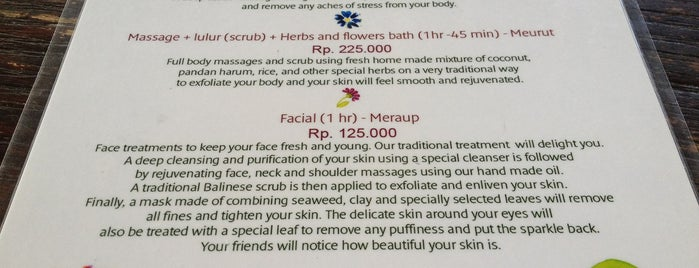 Cantika Spa is one of [BALI] Visiting Ubud: where to eat & what to see.