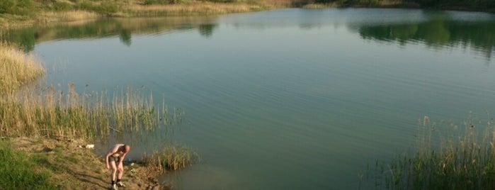 Голубое озеро is one of Орёл.