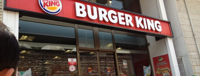 Burger King is one of muhteşemm bi  yer...