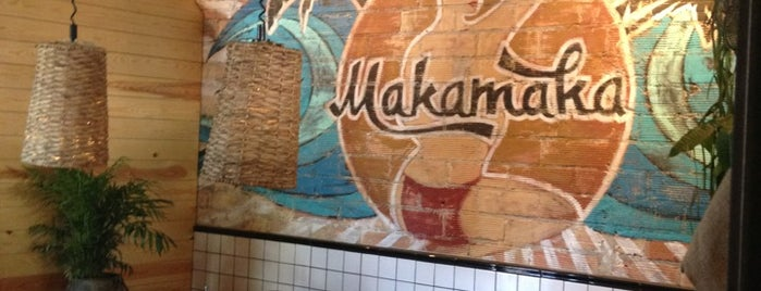 Makamaka Beach Burger Café is one of Hamburgueserías.