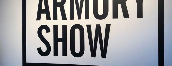 Armory Show VIP Lounge is one of Posti che sono piaciuti a Celestine.