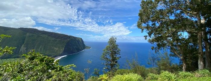 Waipio Lookout is one of Big island.