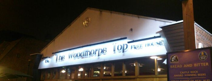 The Woodthorpe Top (Wetherspoon) is one of Carl'ın Beğendiği Mekanlar.