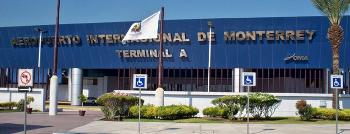 Aeropuerto Internacional de Monterrey (MTY) is one of Free WiFi Airports.