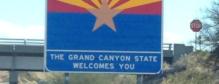 California / Arizona Border is one of Kennyさんのお気に入りスポット.