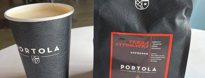 Portola Coffee Roasters is one of Los Angeles.