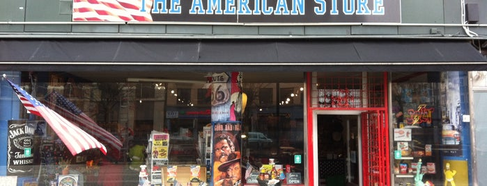 The American Store is one of Lieux qui ont plu à Simon.
