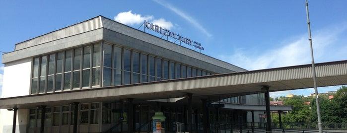 Karlovy Vary dolní nádraží is one of Карловы Вары.