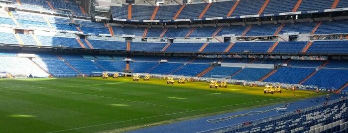 Estadio Santiago Bernabéu is one of The Great Football Pilgrimage.