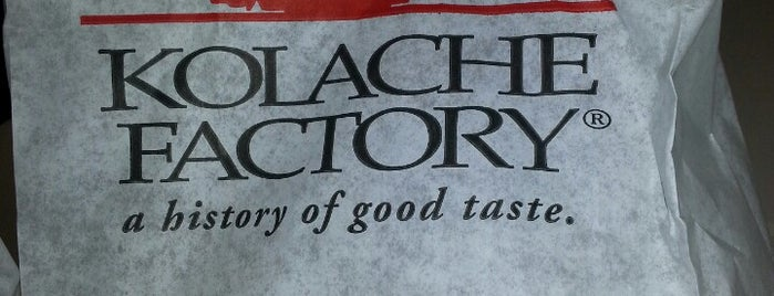 Kolache Factory is one of Orte, die Steve gefallen.