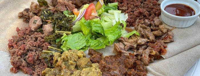 Abugida Restaurant & Lounge is one of Toronto vegetarian restaurants.