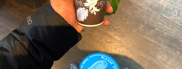 Think Coffee is one of Locais curtidos por Daniel.