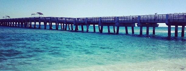 Lake Worth/William O. Lockhart Municipal Pier is one of Beaches.