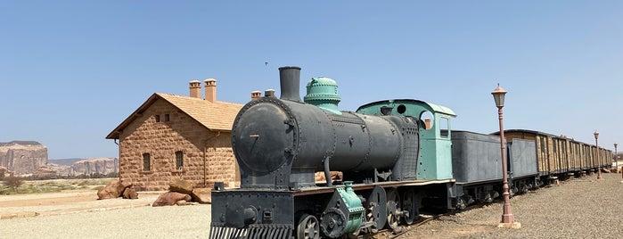 Hijaz Railway Station is one of Al Ula.