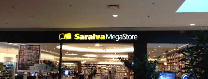 Saraiva Megastore is one of Lieux qui ont plu à Gabi.