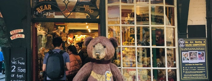 Stonegate Teddy Bears is one of York.