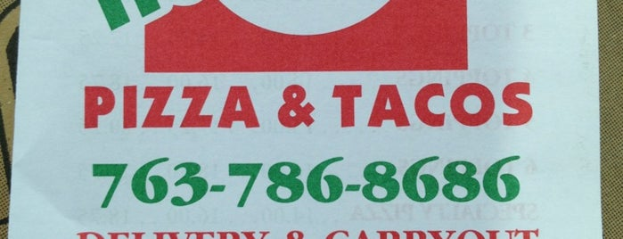 Hometown Pizza & Tacos is one of Orte, die SchaOn gefallen.