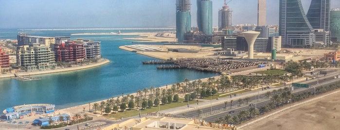 Ewa Hotel Apartments Manama is one of สถานที่ที่ Bandder ถูกใจ.