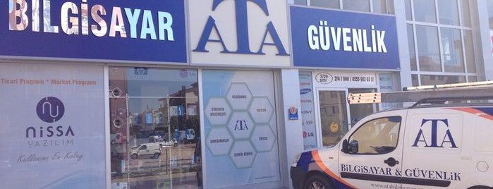 Ata Bilgisayar & Güvenlik is one of Gespeicherte Orte von Hadi.