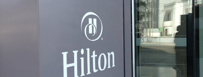 Hilton Lima Miraflores is one of Locais curtidos por Markus.