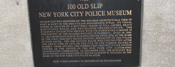 New York City Police Museum is one of M&D Visit.