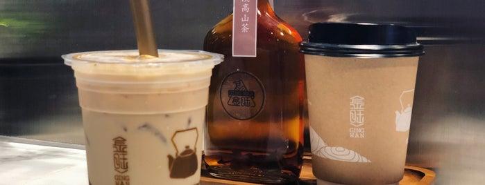 Ging Wan is one of BKK_Tea/ Chocolate/ Juice Bar.
