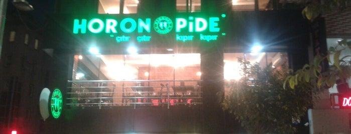 horon pide is one of Tempat yang Disukai Aynur.
