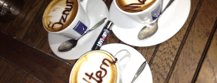 Lavazza is one of All-time favorites in Turkey.