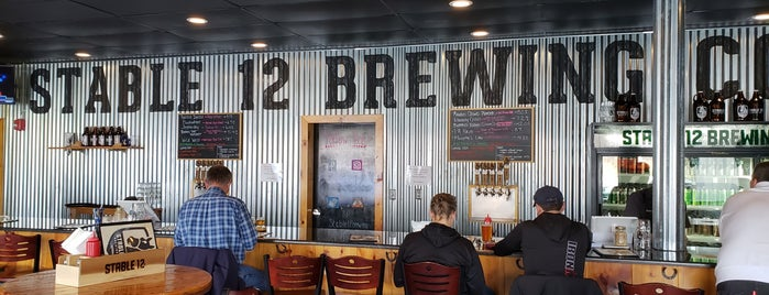 Stable 12 Brewing Company is one of Fun.