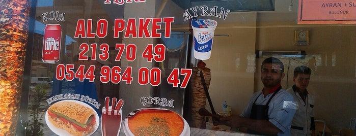 Şehmus ustanin yeri Tavuk Doner ve Sifa Corbasi Servisi Ile Hizmetinizde is one of Hakan'ın Beğendiği Mekanlar.