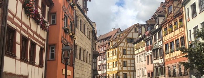 Weißgerbergasse is one of Wochenende in Nürnberg.