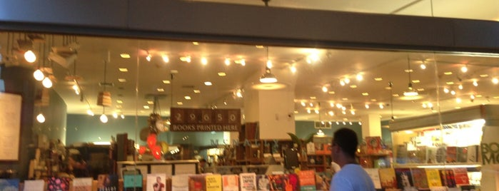 McNally Jackson Books is one of Best in NYC coffee.