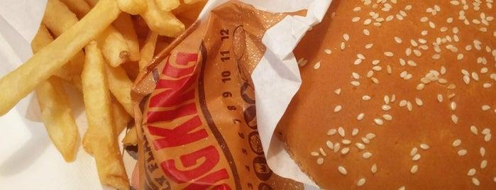 Burger King is one of Lieux qui ont plu à Thienpont.
